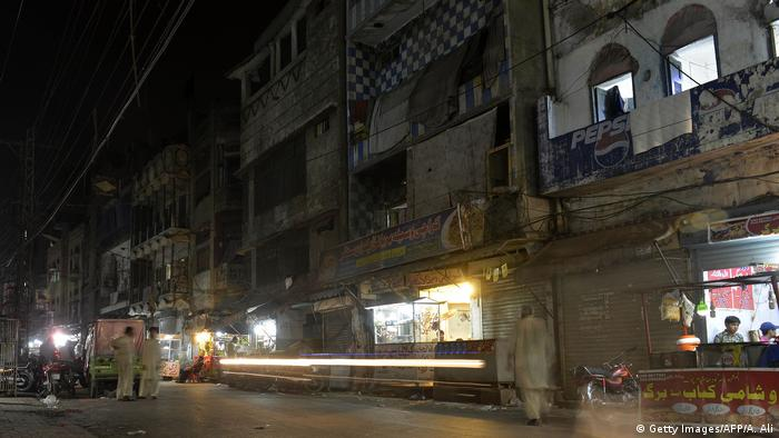 Pakistan Lahore Heera Mandi Rotlicht Bezirk (Getty Images/AFP/A. Ali)