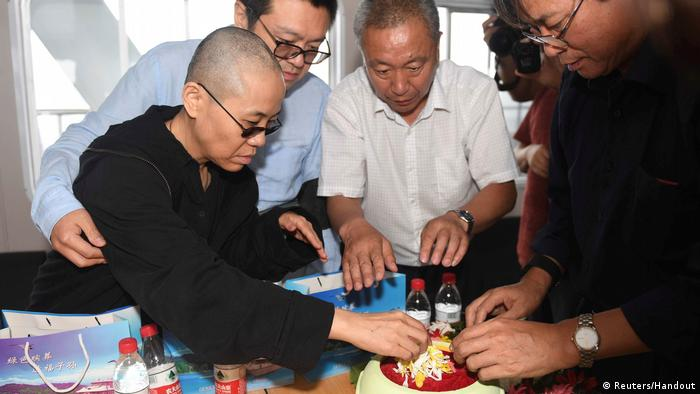 China Liu Xiaobo Trauerfeier (Reuters/Handout)