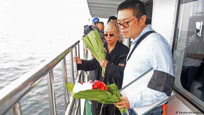 China Liu Xiaobo Trauerfeier