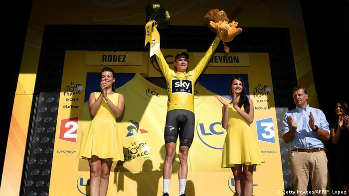 Tour de France 14. Etappe Froome holt gelbes Trikot zurück (Getty Images/AFP/P. Lopez)