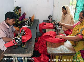 Workers in the textile industry in Bangladesh are worried about losing their jobs