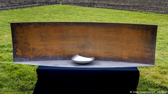 Monumento en memoria de las víctimas del MH17 en Vijfhuizen, Holanda