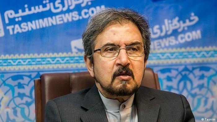 Iran Bahram Ghasemi stellvertretender Außenminister (Tasnim)