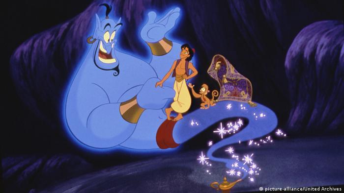 Eine Szene aus dem Zeichentrickfilm Aladin und die Wunderlampe (picture-alliance/United Archives)