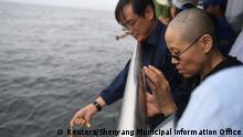 China Liu Xiaobo Trauerfeier Witwe Liu Xia