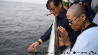 China Liu Xiaobo Trauerfeier Witwe Liu Xia (Reuters/Shenyang Municipal Information Office)