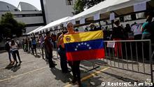 Venezuela Symbolisches Referendum gegen Maduro
