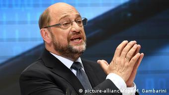 SPD chancellor candidate Martin Schulz