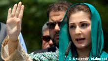 Pakistan Maryam Nawaz Sharif, Tochter des Premierministers