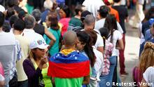Venezuela Caracas Symbolisches Referendum Opposition