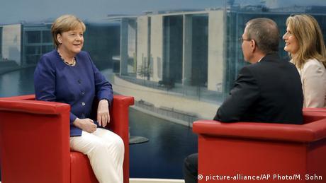 Άγκελα Μέρκελ: Δεν εκβιαζόμαστε από την Τουρκία
