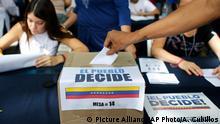Venezuela Caracas Referendum