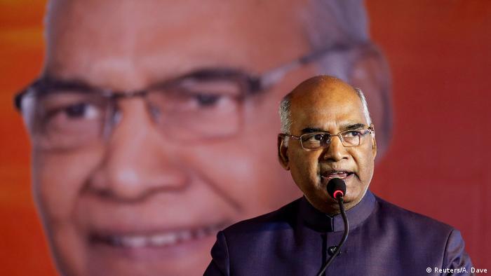 Ram Nath Kovind (Reuters/A. Dave)