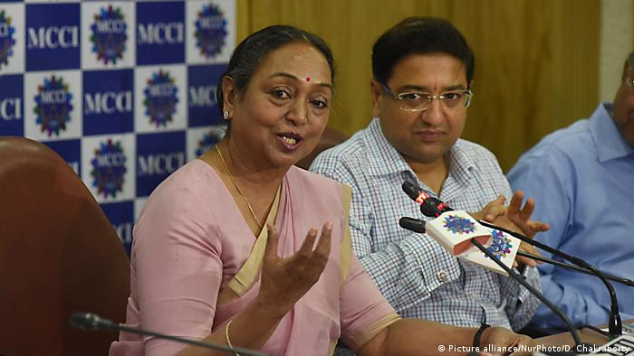 Indien Meira Kumar (Picture alliance/NurPhoto/D. Chakraborty)