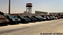 Irak Mossul Fahrzeuge, vom IS für Selbstmordanschläge genutzt