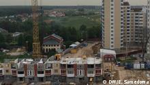 Russland Baustelle in Moskau