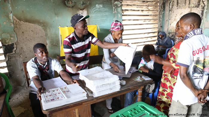 Kongo Parlamentswahlen in Brazzaville