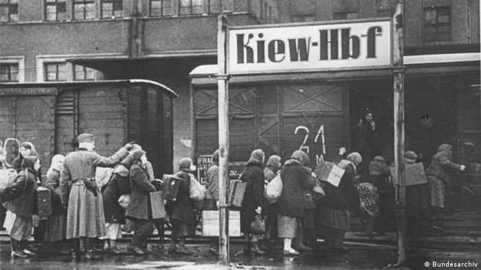 Отправка ост-арбайтеров в Германию