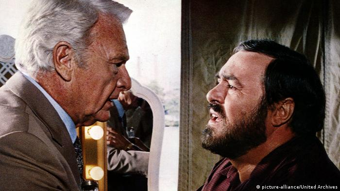 Luciano Pavarotti in the film 'Lover Giorgio' (Photo: picture-alliance/United Archives)