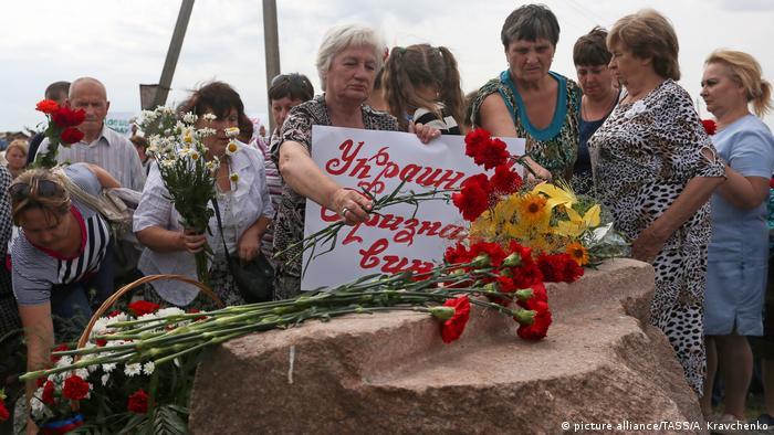 Ukraine - MH 17 - Denkmal