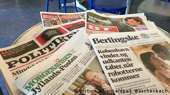 Εφημερίδες στη Δανία