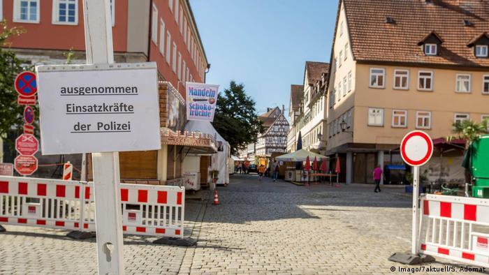 Schorndorf town center