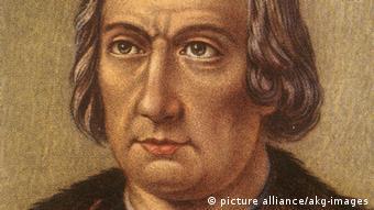 Pintura retrata Cristóvão Colombo