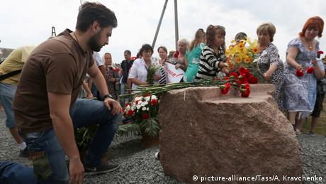 Ukraine Gedenkstätte Opfer des Flugs MH17