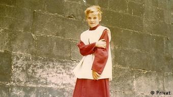 Александър Пробст като дете