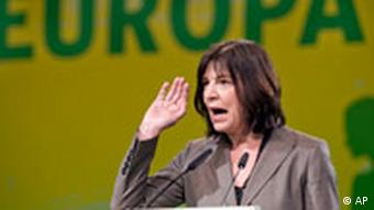 Rebecca Harms of Germany's Greens