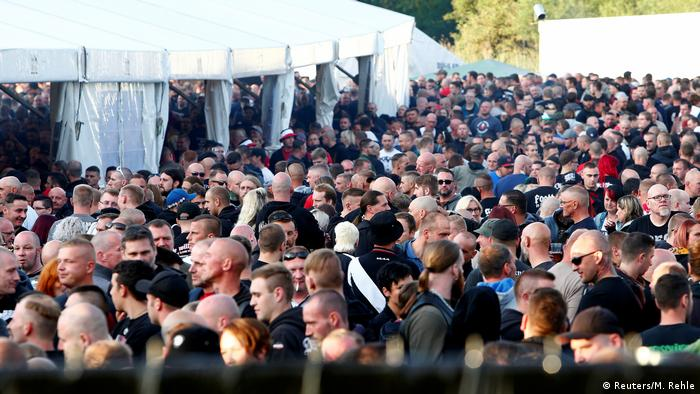 Deutschland Ermittlungen nach Rechtsrock-Konzert in Thüringen