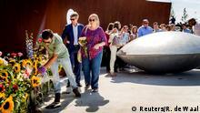 Niederlande - Gedenkfeier der Opfer des Flugzeugunglücks MH17