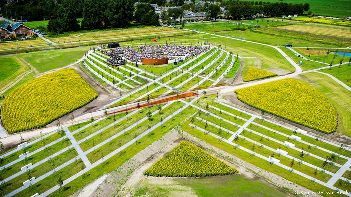 Netherlands memorial to the victims of the MH17 crash