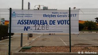 Angola - Poster Wahllokal 1266 in den allgemeinen Wahlen