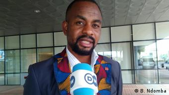 Angola - Nelito Ekuikui Kandidat der Oppositionspartei