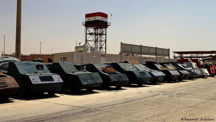 Vehicles used by IS for suicide bombings