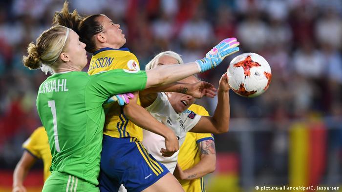 Niederlande Frauen Europameisterschaft 2017 | Deutschland gegen Schweden