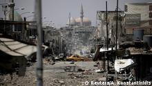 Irak Zerstörung und in Mossul