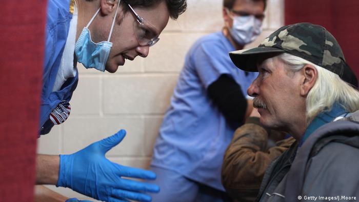 Obama Care Obamacare USA medizinische Versorgung (Getty Images/J.Moore)