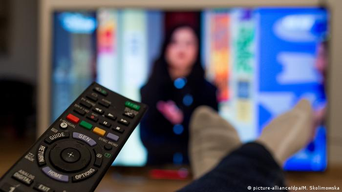 Symbolbild Fernsehen