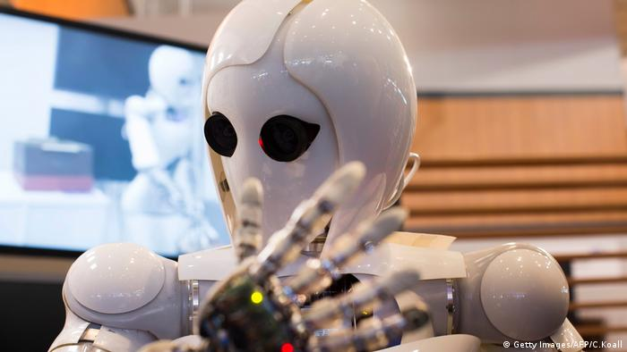 Android Roboter Aila (Getty Images/AFP/C.Koall)