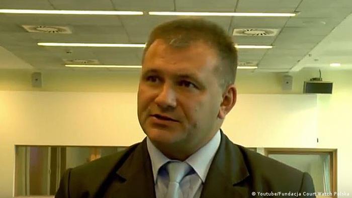 Screenshot Youtube polnischer Richter Waldemar Zurek
