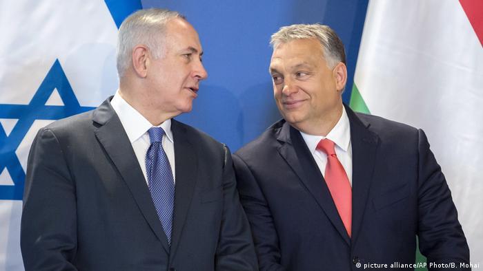 Beniamin Netanyahu și Viktor Orban