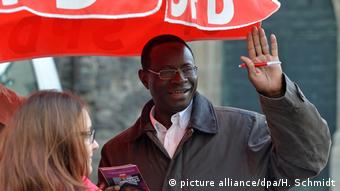 SPD MP Karamba Diaby in Halle