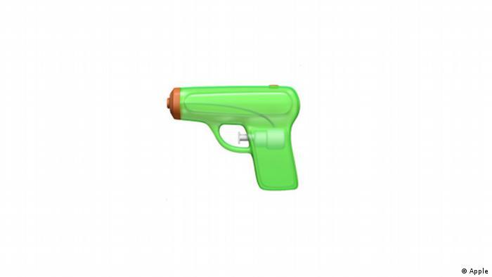 Apple's Green water gun emoji (Photo: Apple)