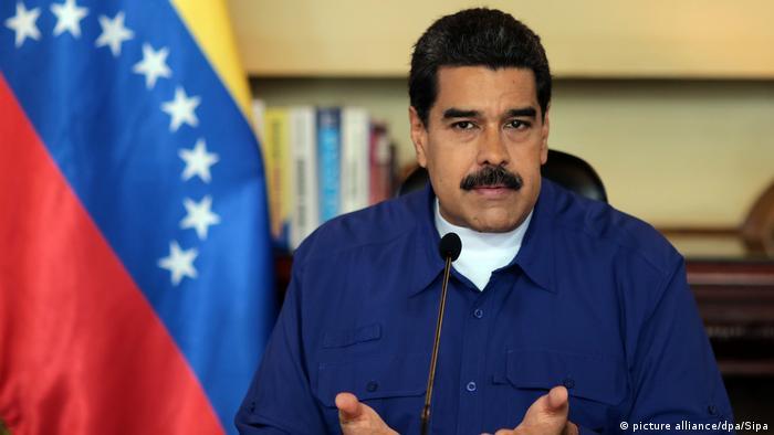 Venezuela Nicolas Maduro (picture alliance/dpa/Sipa)