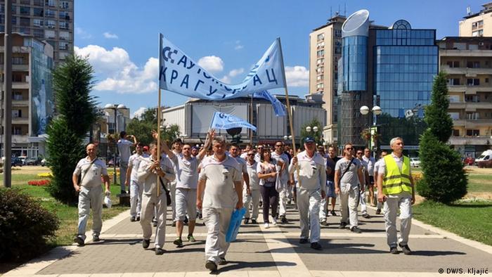 Streik Fiat Serbien