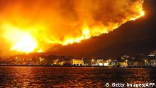 Wildfires outside Split (Getty Images/AFP)