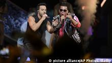 Luis Fonsi, Daddy Yankee (picture alliance/AP Photo/L.Sladky)