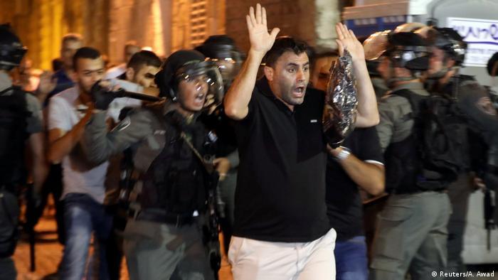 Israel Ausschreitungen in Jerusalem (Reuters/A. Awad)